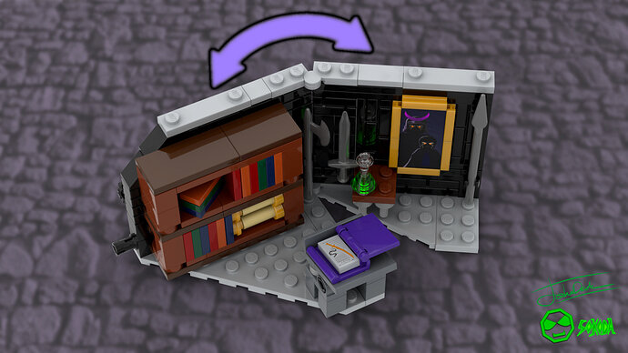 Umbra's secret library finished 7