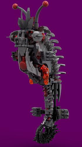 bionicle Infrared deep sea horse