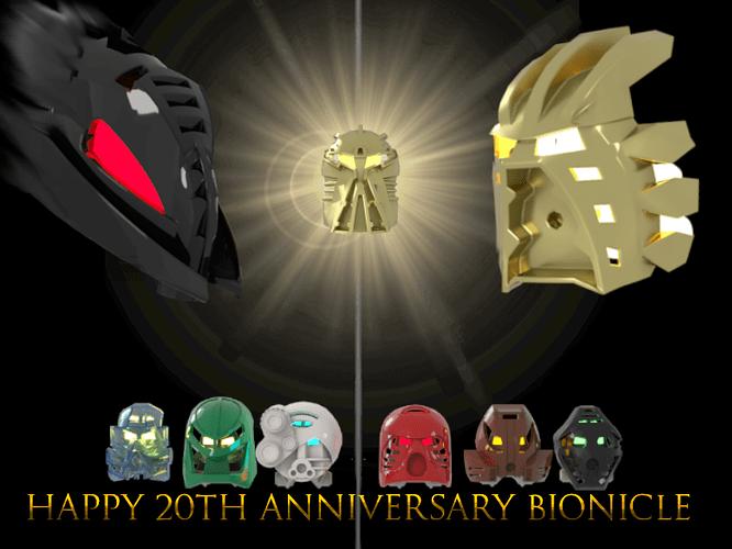 Bonk 20th anniversary poster