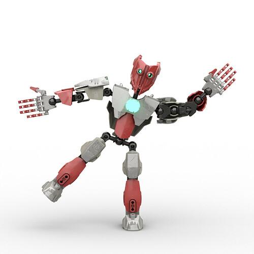 Makooti, the Bionic Man. Angonce's assistant.