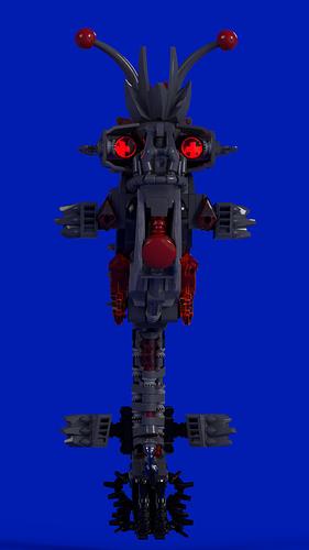 bionicle Infrared deep sea horse_2