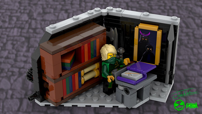 Umbra's secret library finished 3