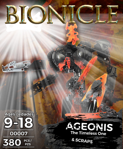 Ageonis cover