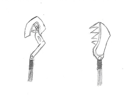 Seismic Spear Sketch
