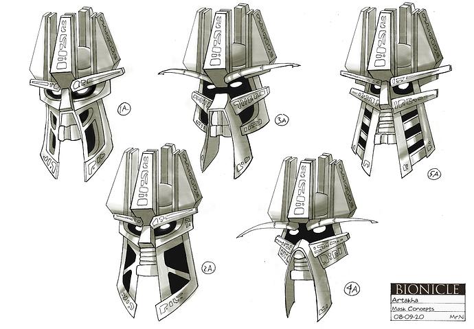 Artakha Mask Concepts