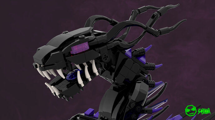 Overlord Dragon renders 2