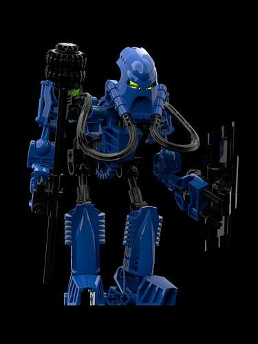 Toa Helryx, the Last Throwbot