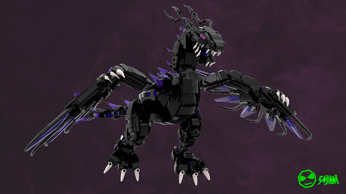 Overlord Dragon renders 3