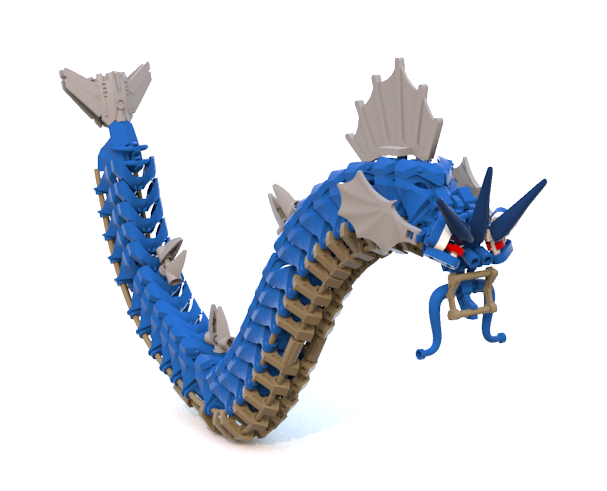 Lego Pokemon Gyarados Red Images