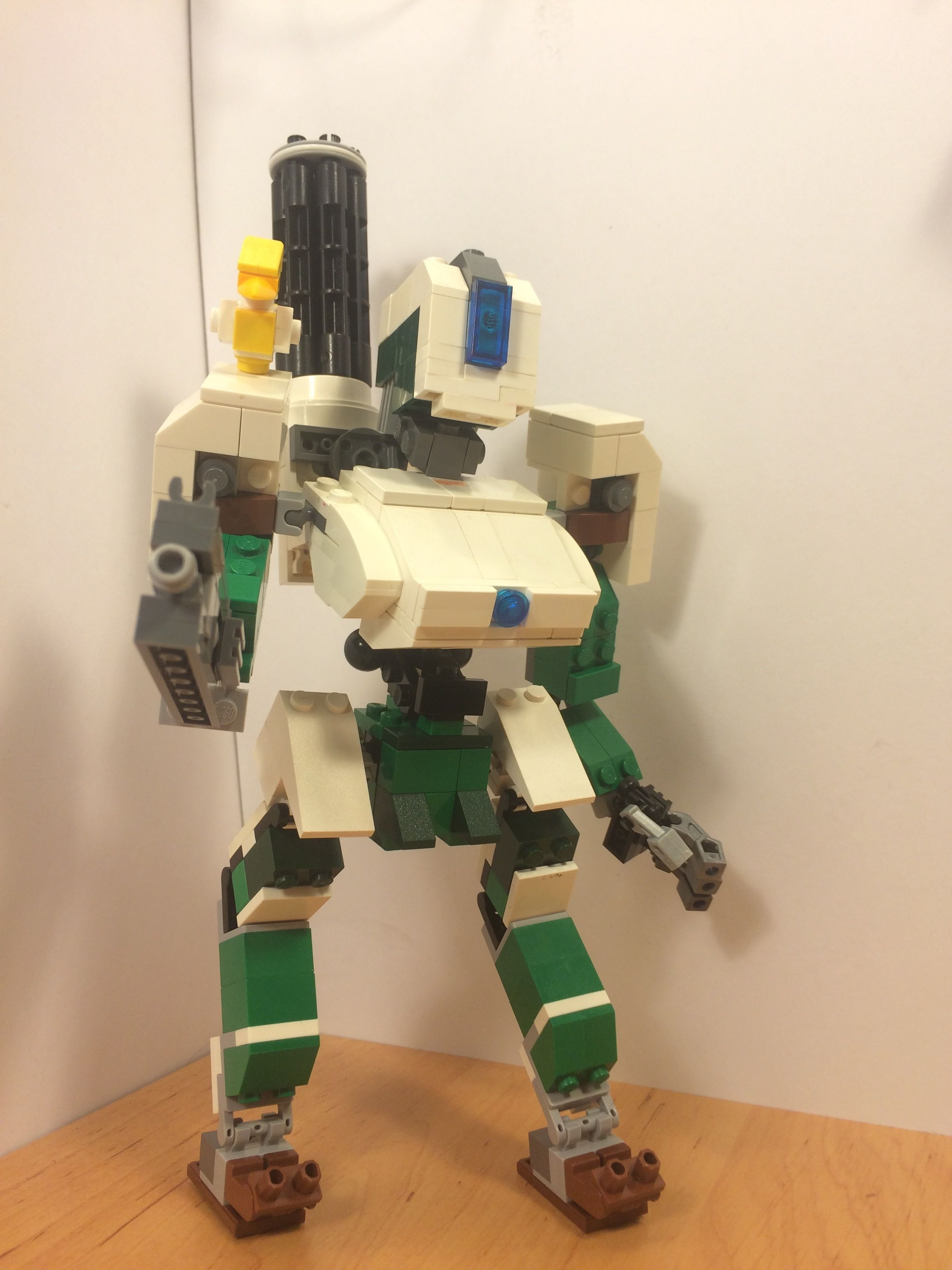 Overwatch -Bastion and Ganymede - Lego Creations - The TTV Message ...
