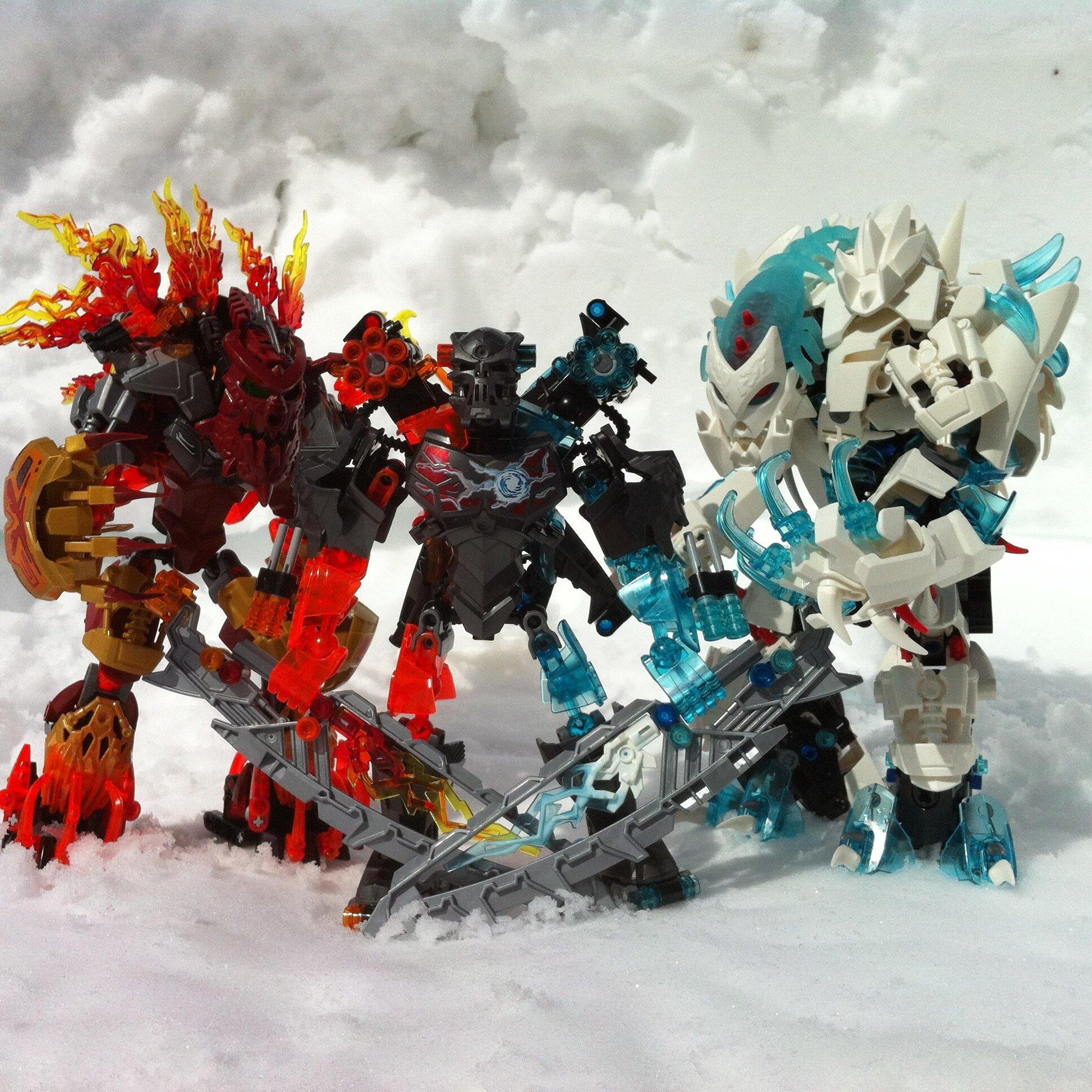 Warriors Fire And Ice Episode 4: Kragar, The Hybrid Elemental Warrior