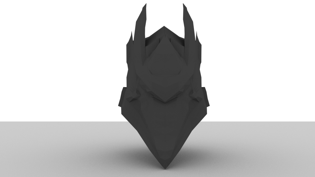 unfinished infinity blade vile helmet model creative content  ttv message boards