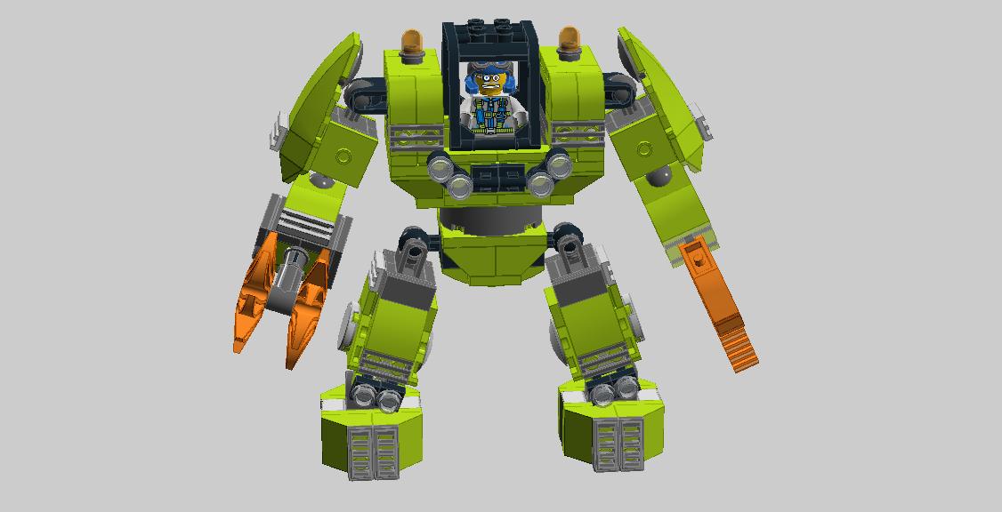 Baukästen & Konstruktion LEGO Baukästen & Sets Lego 8957 Mine Mech