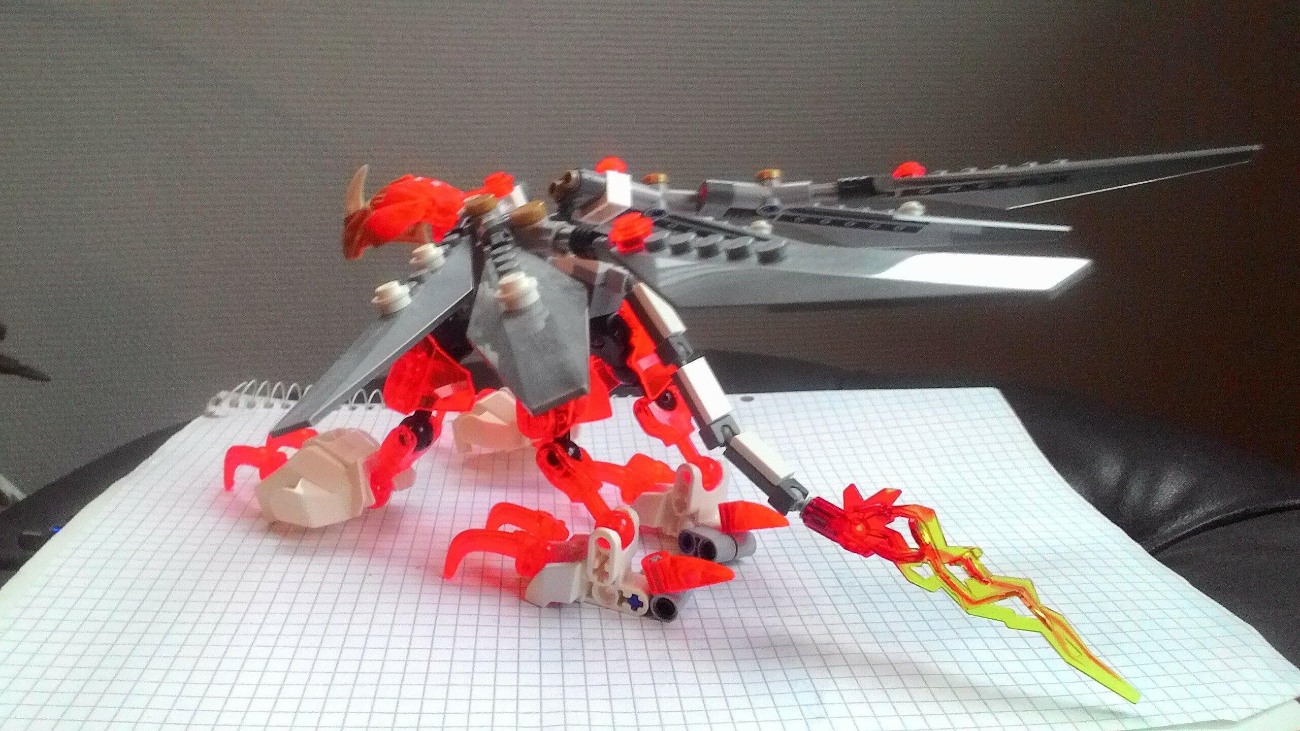 Elemental Creature Of Plasma Daicore Lego Creations The Ttv