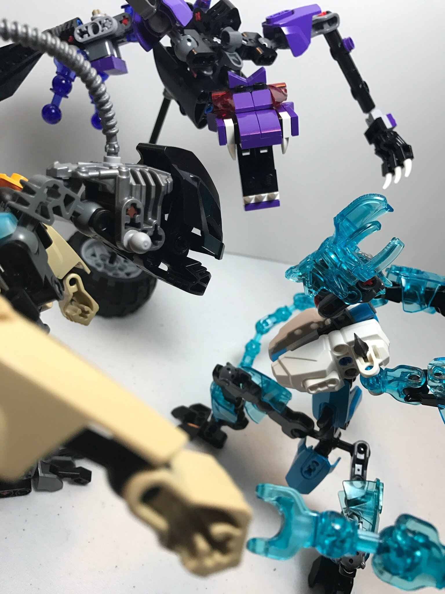 Three stand mocs  (Also some other stuff but whatever) - Lego