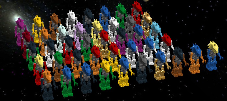 Rahkshi Minifigs All 42 Plus Instructions Lego Creations The