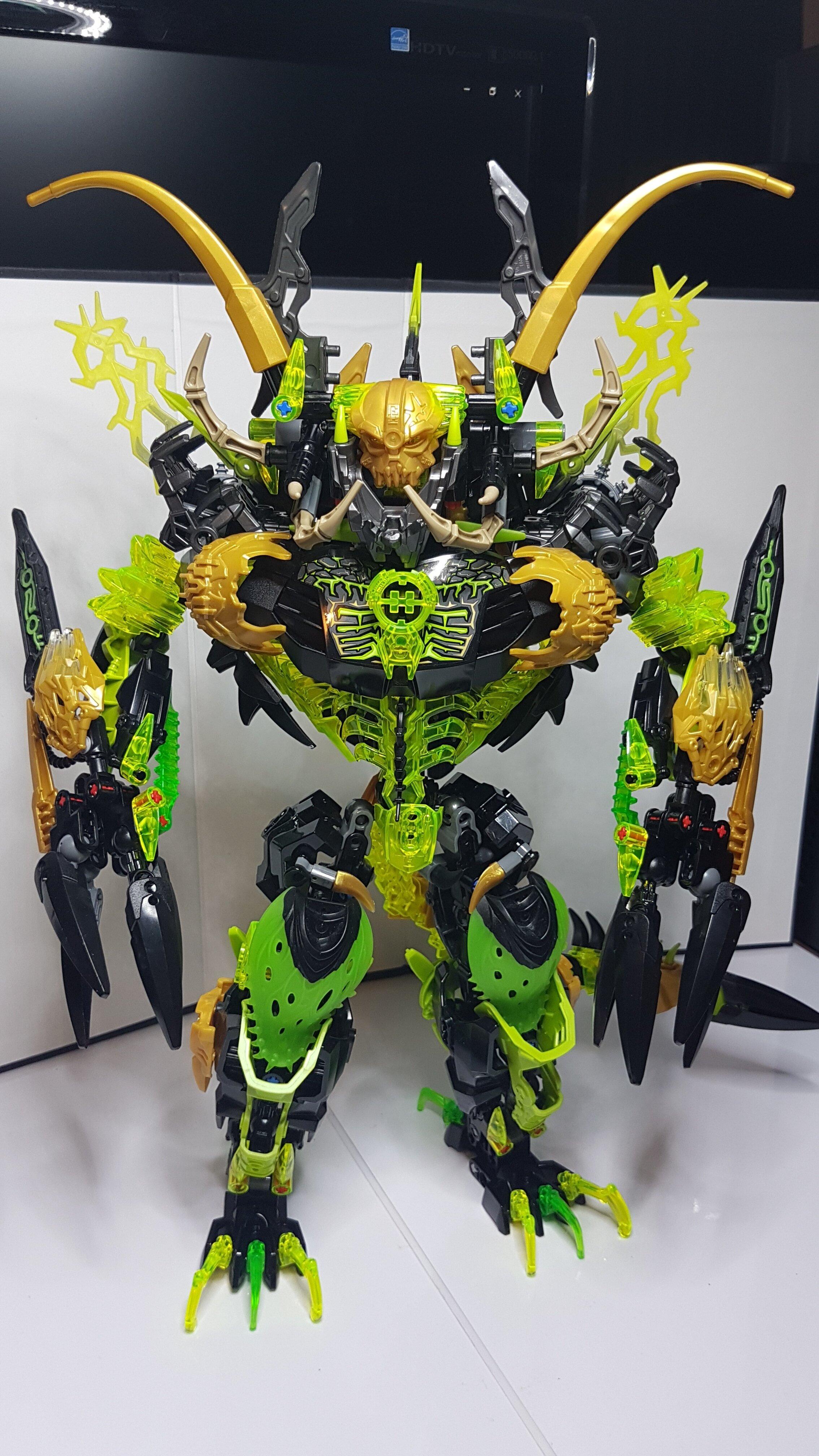 Bionicle 2016 MOC - UMARAK - HELL DESTROYER - Lego ...
