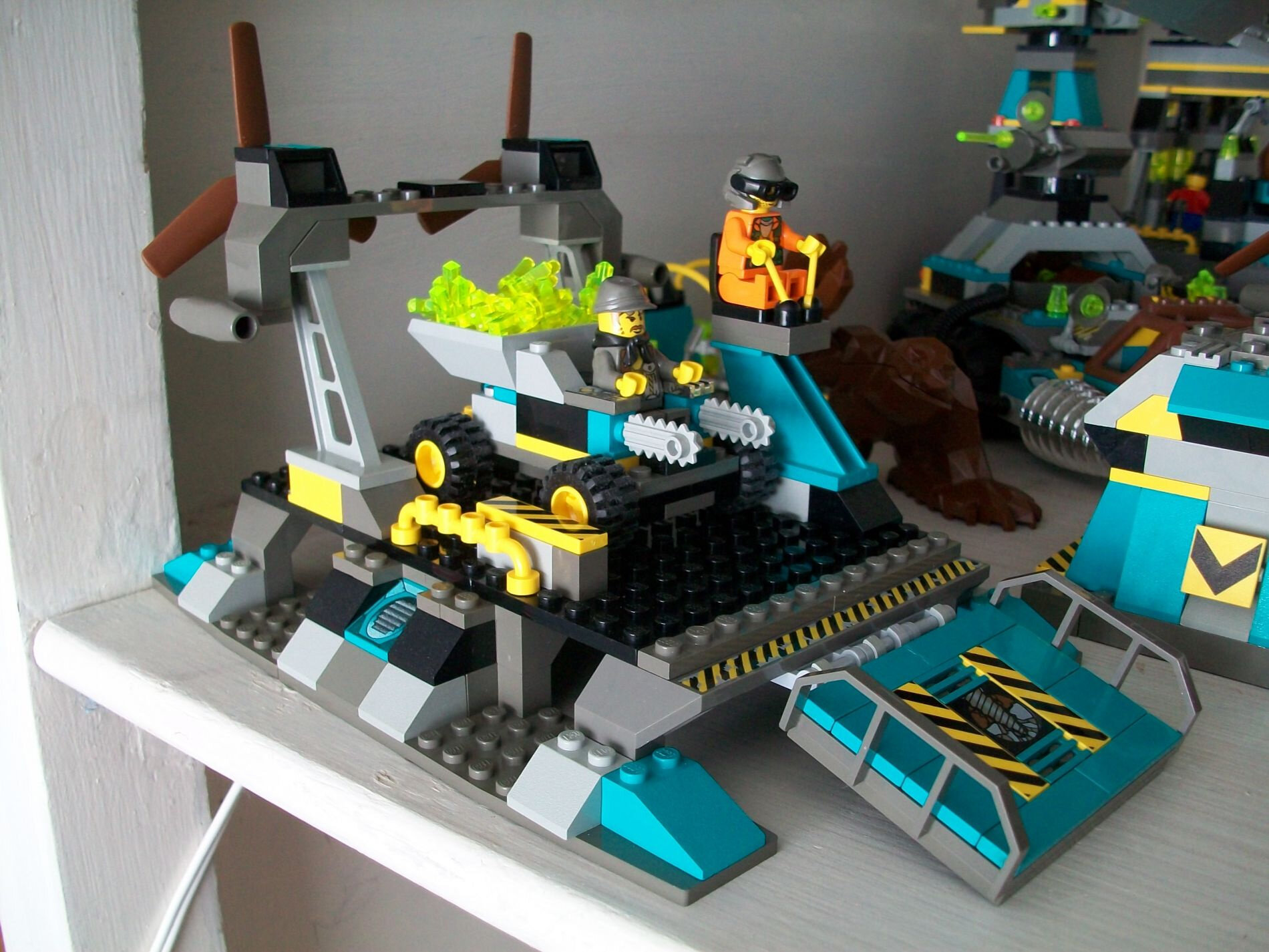Have Anyone Ever Tried To Make Instructions For The Lego Rock