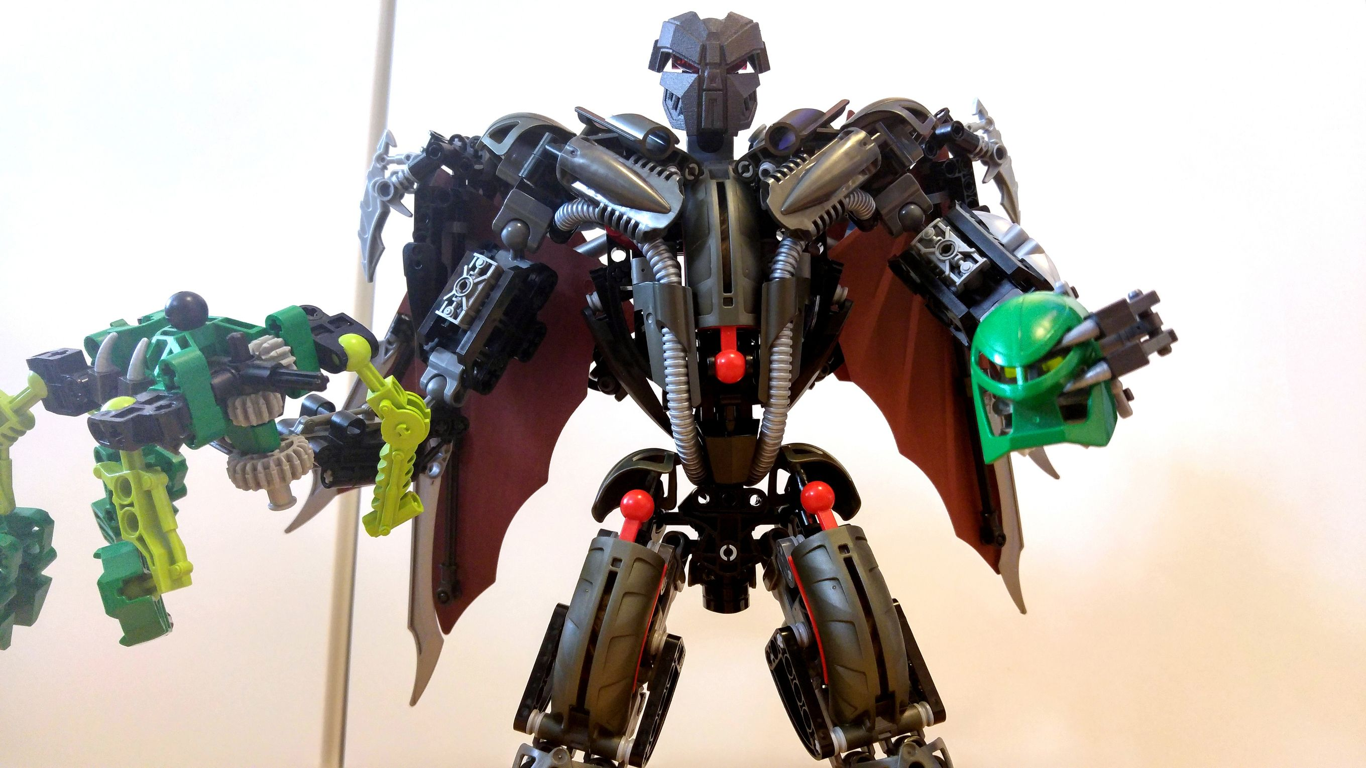 makuta teridax moc updated lego creations the ttv message boards