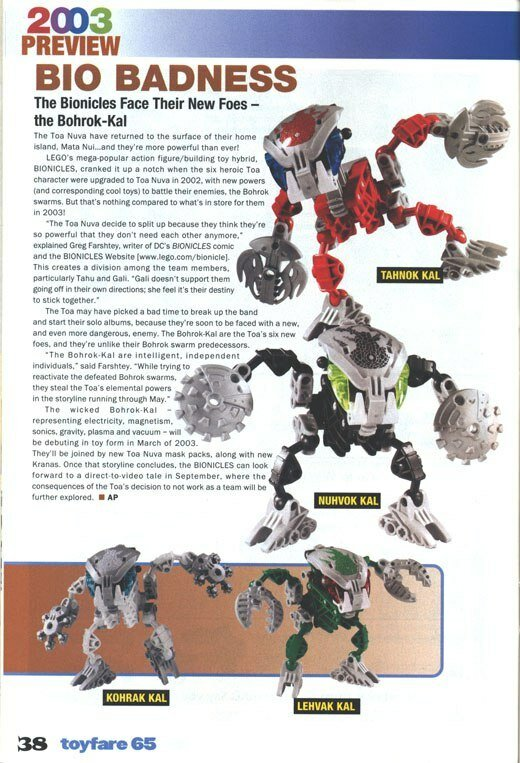 In Defence of: The Bohrok Kal - BIONICLE - The TTV Message Boards
