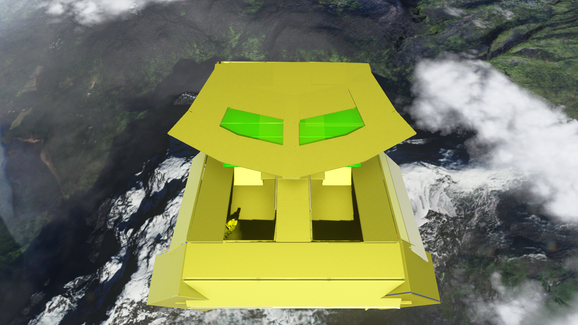 The Miru as a Halo 5 Forge Map - Artwork - The TTV Message