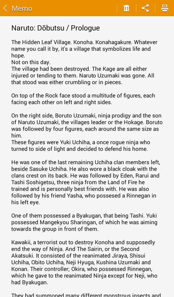 Naruto Dōbutsu Fan fiction Update, Prologue and Chapter 1
