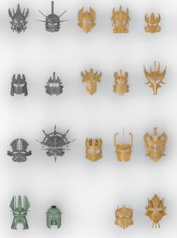 masks of creation